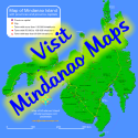 Map of Mindanao