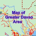 Map of Greater Davao