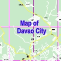Map of Davao City