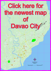 Streetmap of Davao City