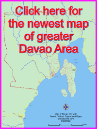 Map of Greater Davao Area